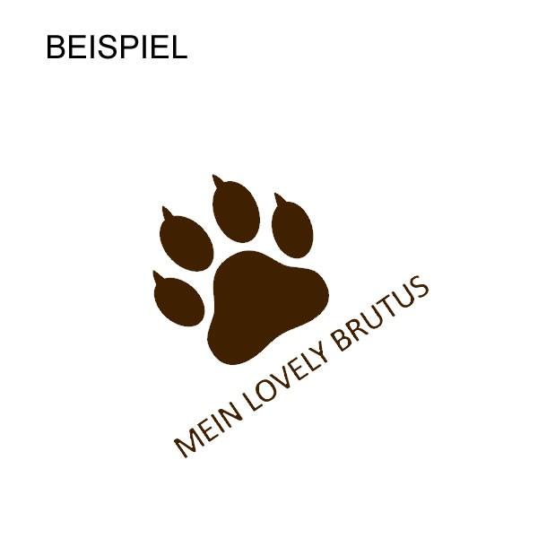 """Bestickte Hundedecke """"Kuschel"""" Basic Line Grösse M"""